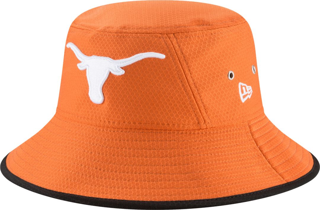 huge selection of 54aff 30d9f New Era Men s Texas Longhorns Burnt Orange Team Bucket Hat