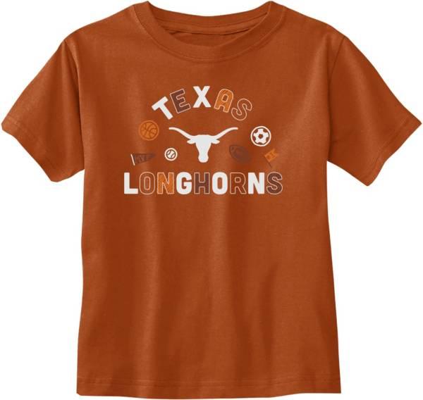University of Texas Authentic Apparel Toddler Texas Longhorns Burnt Orange T-Shirt product image