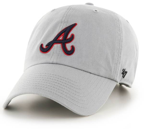 '47 Men's Atlanta Braves Storm Clean Up Adjustable Hat product image