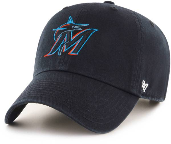 '47 Men's Miami Marlins Clean Up Adjustable Hat product image