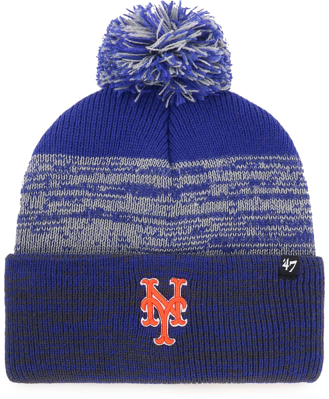 d92593f198125f '47 Men's New York Mets Static Knit Hat. noImageFound. Previous