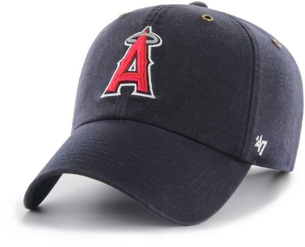 '47 Men's Los Angeles Angels Carhartt Clean Up Navy Adjustable Hat product image