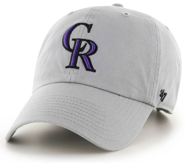 '47 Men's Colorado Rockies Storm Clean Up Adjustable Hat product image