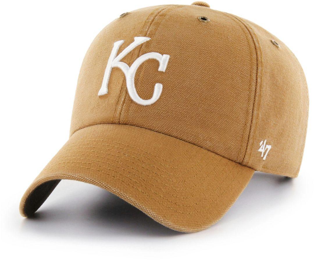 hot sale online b2265 b4c93  47 Men s Kansas City Royals Carhartt Clean Up Brown Adjustable Hat.  noImageFound. Previous