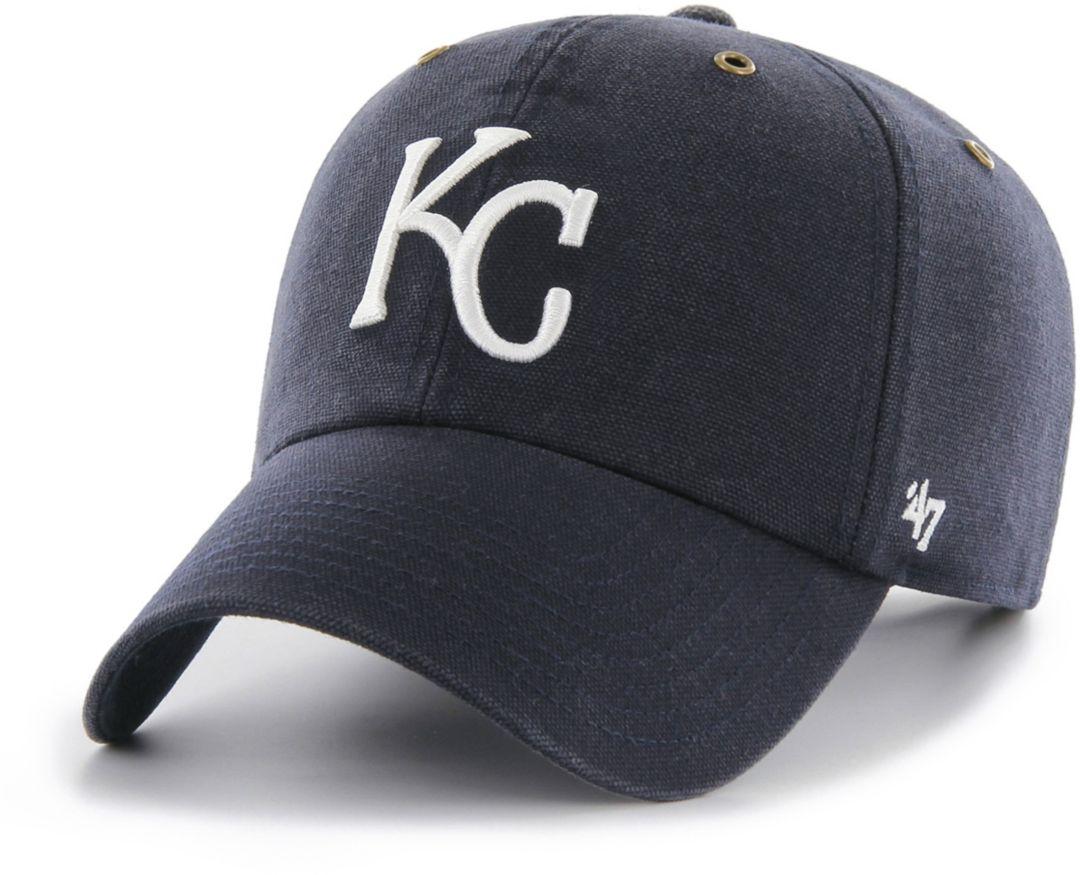buy online 7b1c5 d6ad0  47 Men s Kansas City Royals Carhartt Clean Up Navy Adjustable Hat.  noImageFound. Previous