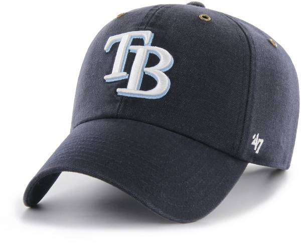 '47 Men's Tampa Bay Rays Carhartt Clean Up Navy Adjustable Hat product image