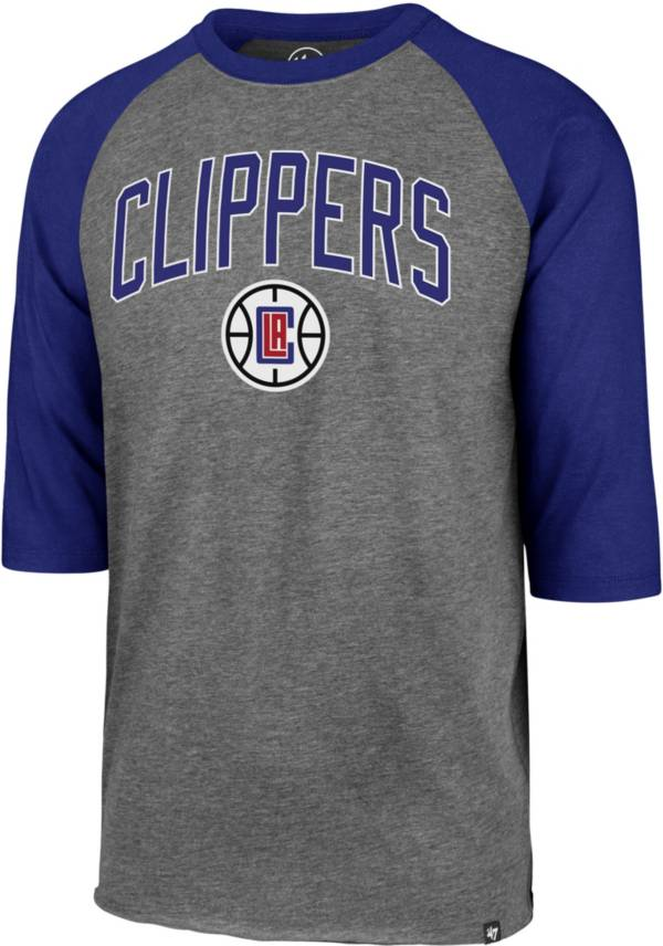 47 Men's Los Angeles Clippers Raglan Three-Quarter Sleeve T-Shirt product image