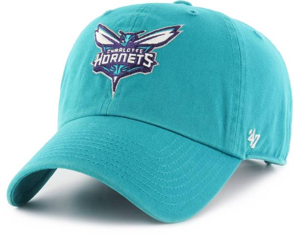 '47 Men's Charlotte Hornets Clean Up Adjustable Hat product image