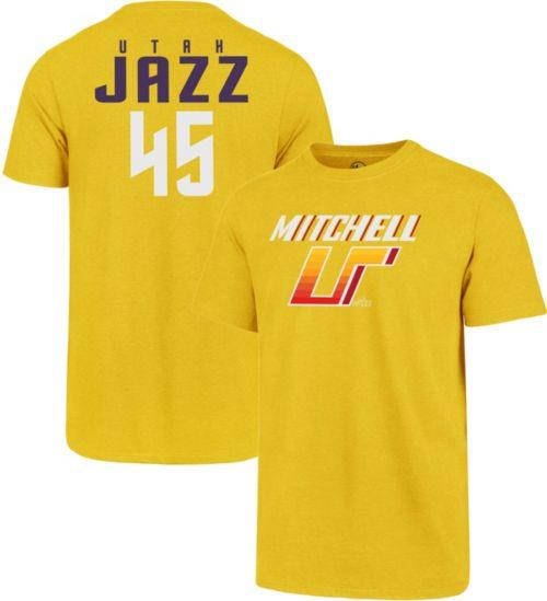 af0159615 ... Utah Jazz Donovan Mitchell T-Shirt. noImageFound. Previous