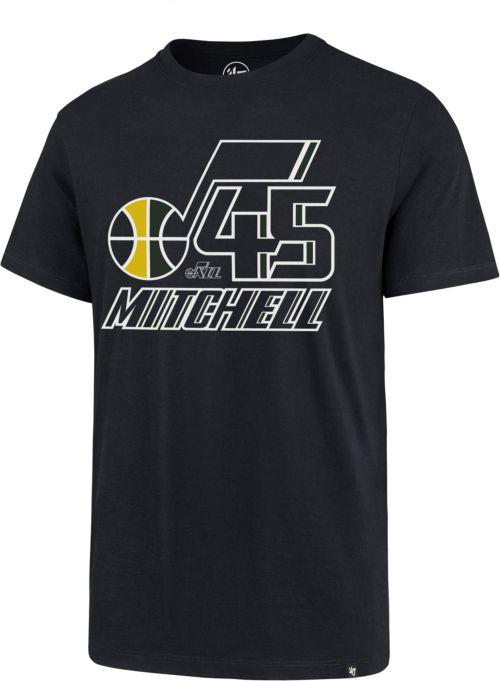 749c5ef445c 47 Men s Utah Jazz Donovan Mitchell T-Shirt