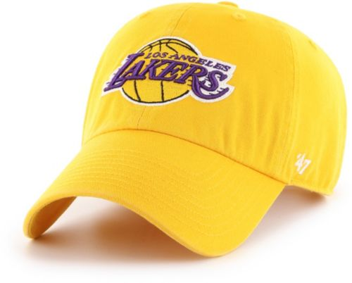 0c1b955f27bd1 47 Men s Los Angeles Lakers Clean Up Adjustable Hat