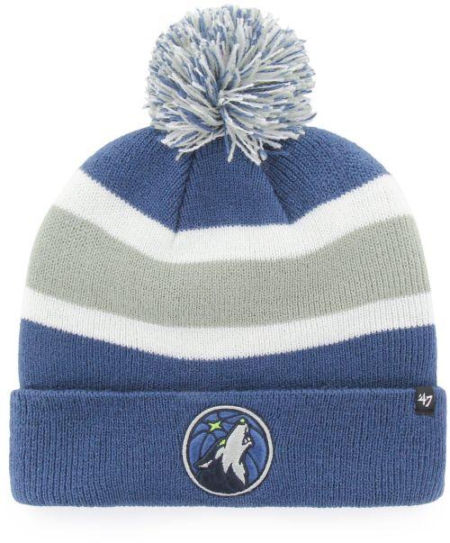 47 Men s Minnesota Timberwolves Breakaway Knit Hat  bc33b915be9