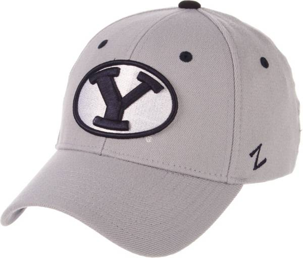 Zephyr Men's BYU Cougars Grey Wool Fitted Hat product image