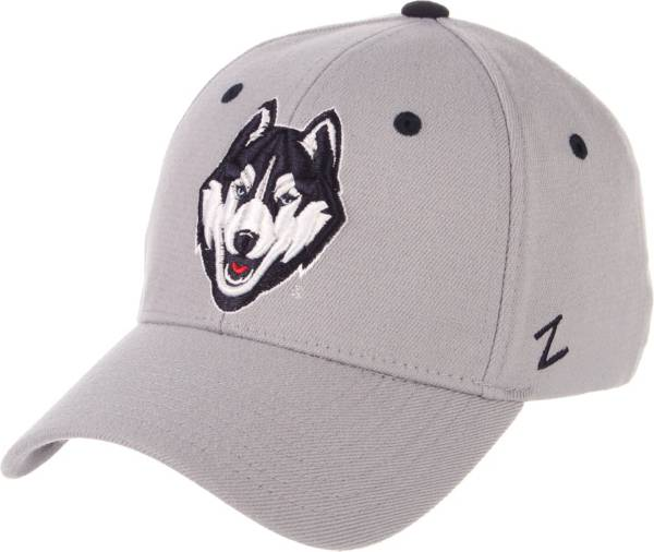 Zephyr Men's UConn Huskies Grey Wool Fitted Hat product image