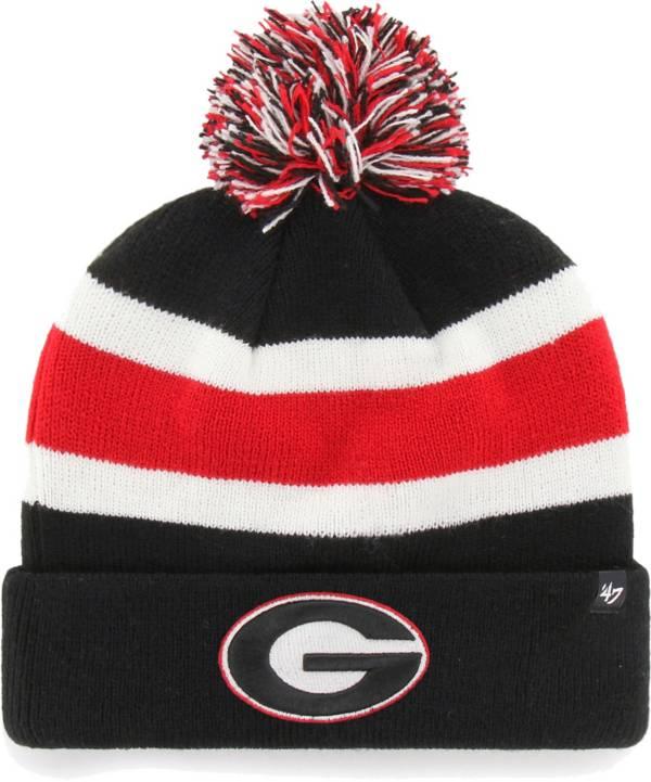 '47 Men's Georgia Bulldogs Cuffed Knit Black Beanie product image