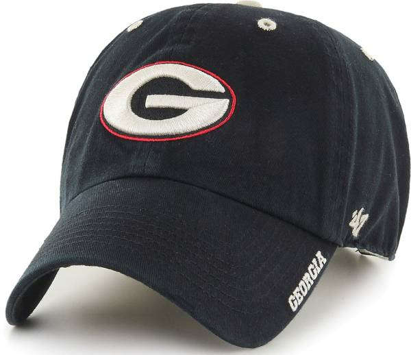 '47 Men's Georgia Bulldogs Ice Clean Up Adjustable Black Hat product image