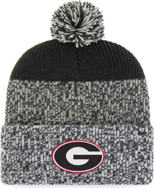 ... Georgia Bulldogs Grey Black Static Cuffed Knit Hat. noImageFound.  Previous aff801e2793