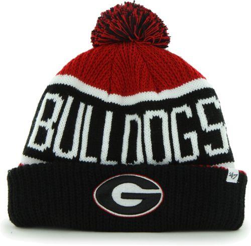 5a2825c9bc2 ... Georgia Bulldogs Red Black Calgary Cuffed Knit Hat. noImageFound.  Previous