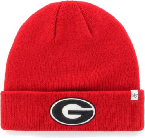 47 Men s Georgia Bulldogs Red Cuffed Knit Beanie  54d02568739