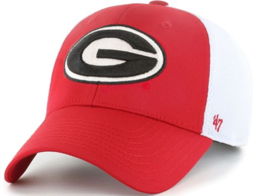 efba95f21b1 47 Men S Georgia Bulldogs Red White Contender Fitted Hat Dick S