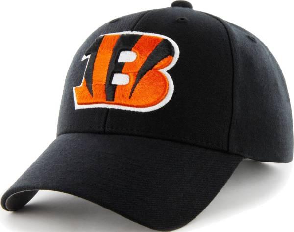 '47 Men's Cincinnati Bengals MVP Black Adjustable Hat product image