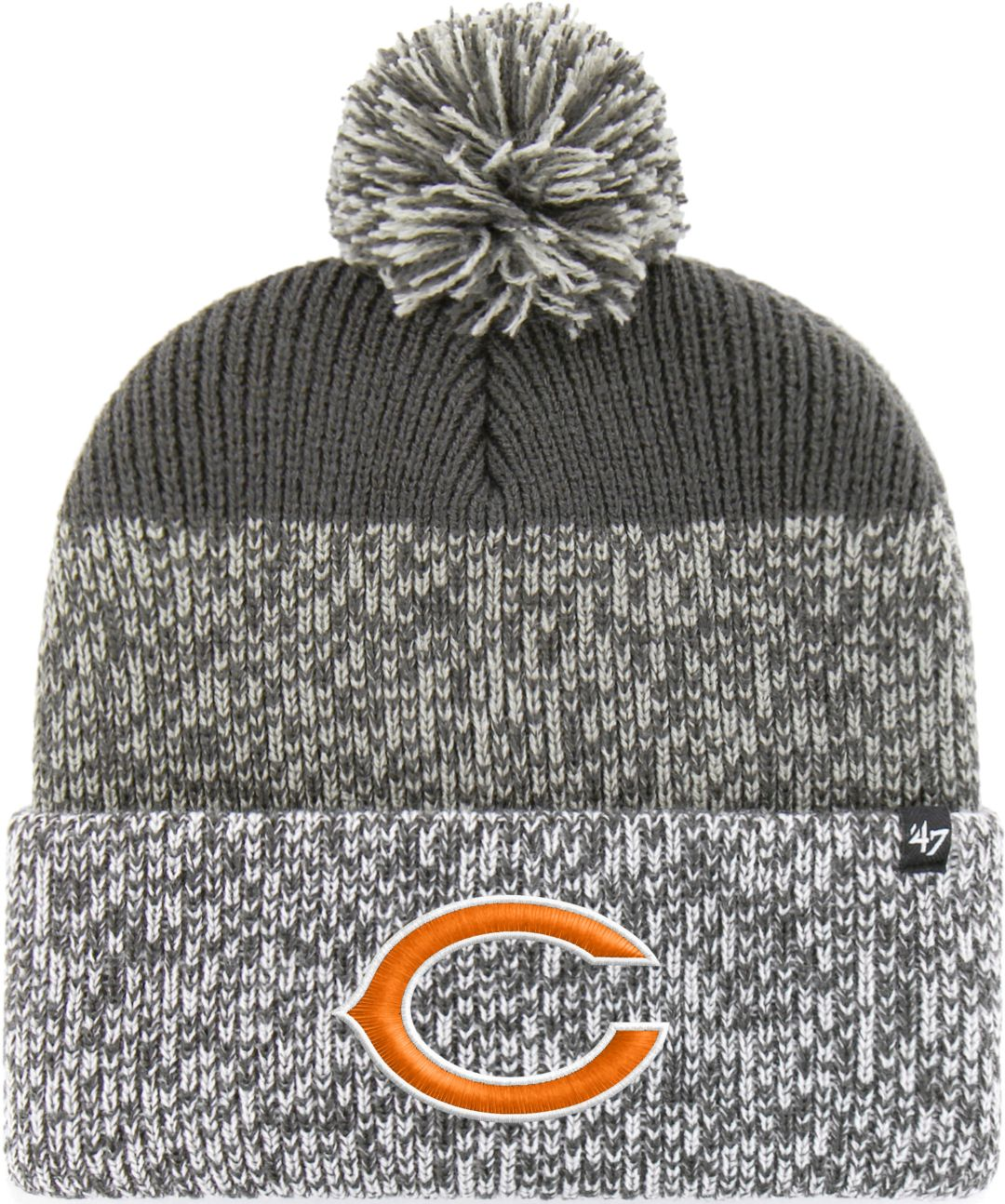 f752879956730d '47 Men's Chicago Bears Static Cuffed Charcoal Knit. noImageFound. Previous