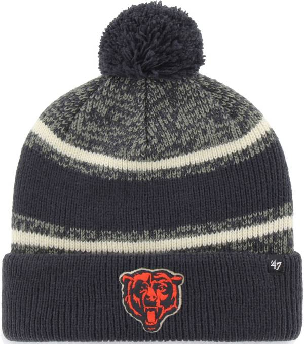'47 Men's Chicago Bears Fairfax Navy Cuffed Pom Knit product image