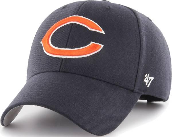 '47 Men's Chicago Bears MVP Navy Adjustable Hat product image