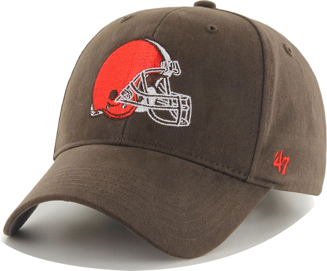promo code cb9f0 a6ee3 '47 Boys' Cleveland Browns Basic MVP Kid Brown Hat