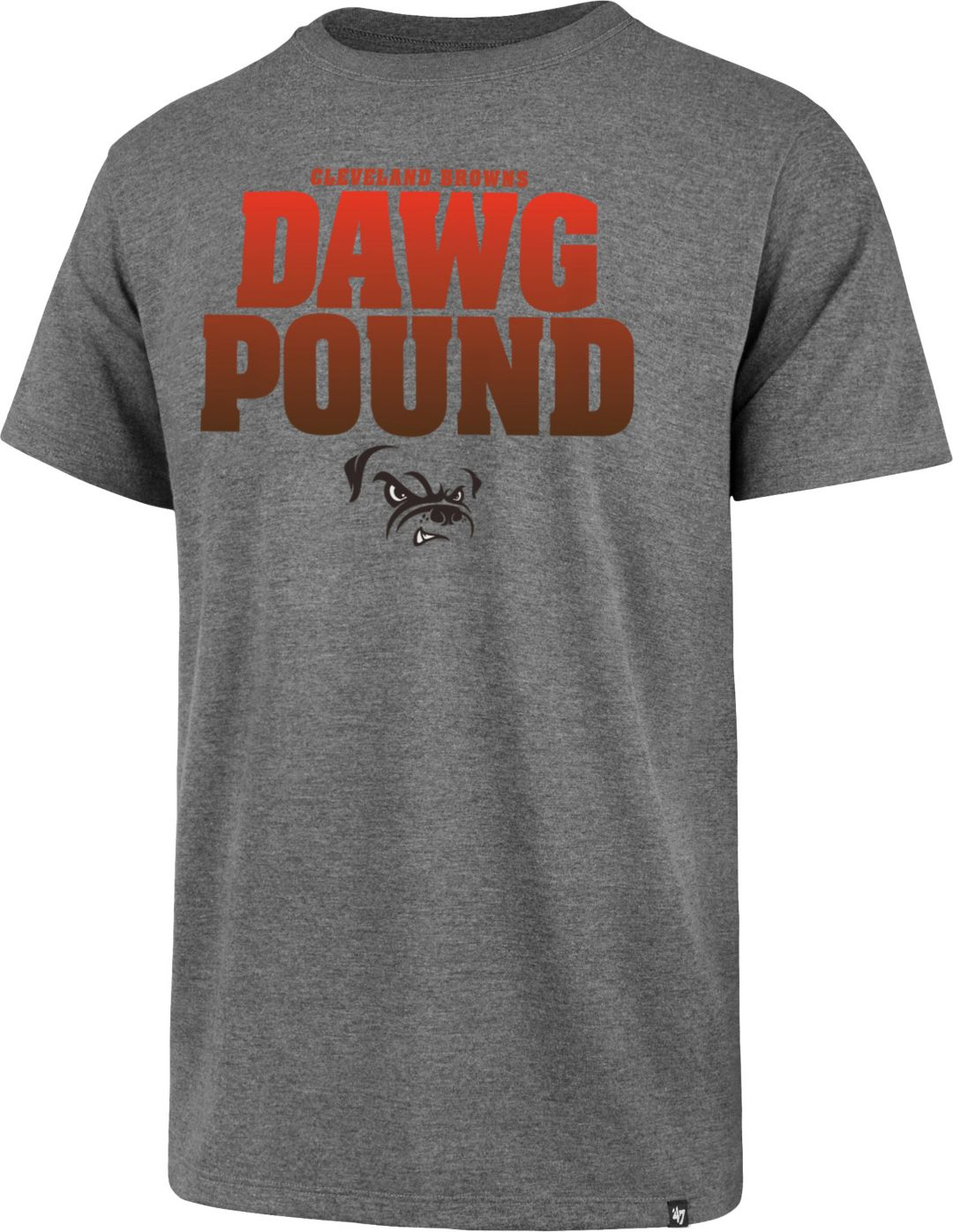 709ca388e 47 Men's Cleveland Browns Dawg Pound Grey T-Shirt | DICK'S Sporting ...
