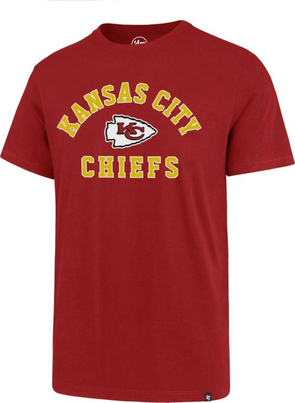 '47 Men's Kansas City Chiefs Rival Red T-Shirt product image