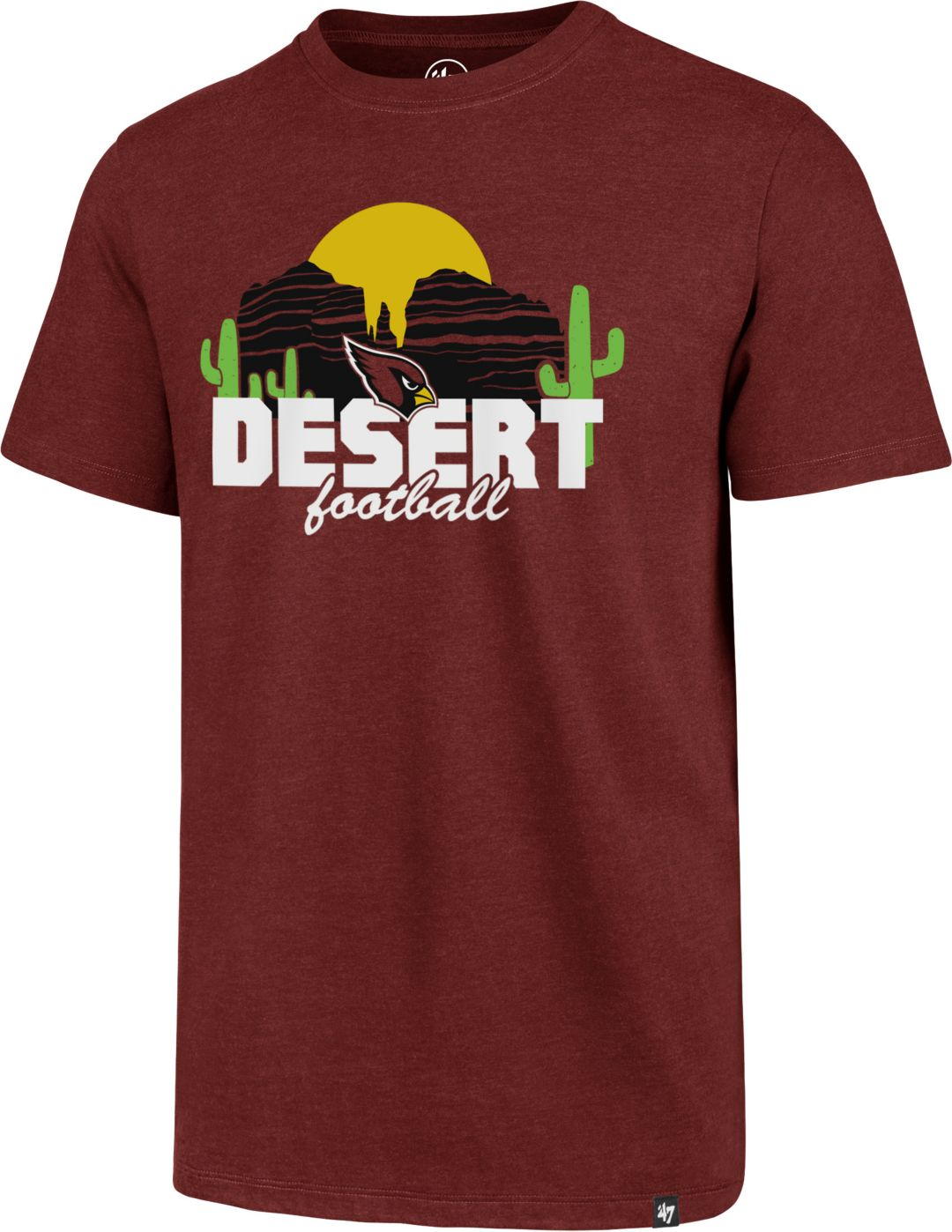 19fdb407 '47 Men's Arizona Cardinals Desert Football Red T-Shirt