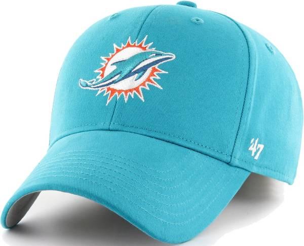 '47 Men's Miami Dolphins Clean Up Aqua Adjustable Hat product image
