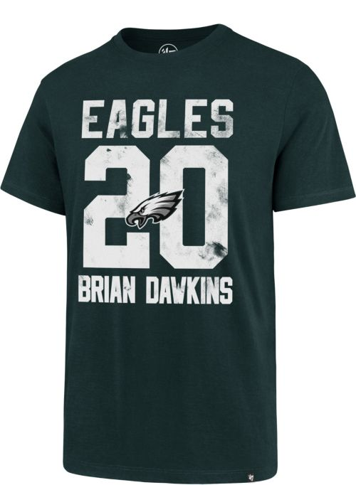 47 Men s Philadelphia Eagles Brian Dawkins  20 Green T-Shirt.  noImageFound. 1 c19e05134