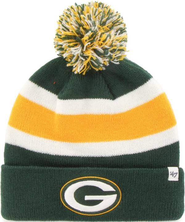 '47 Men's Green Bay Packers Breakaway Green Pom Knit product image