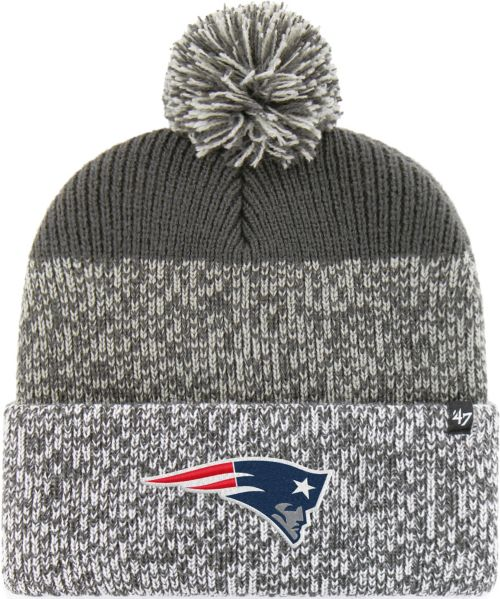 023eeca1 '47 Men's New England Patriots Static Cuffed Charcoal Knit. noImageFound.  Previous