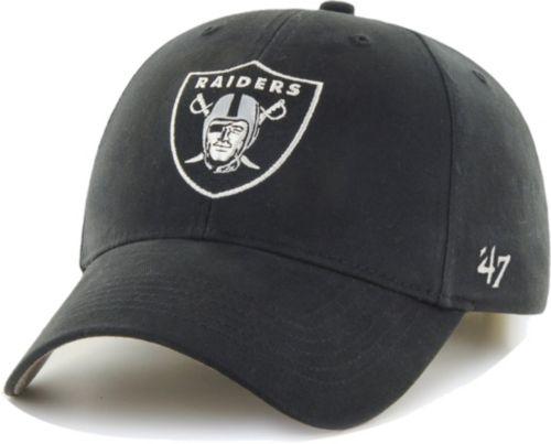 57fb8e424113f 47 Boys  Oakland Raiders Basic MVP Kid Black Hat