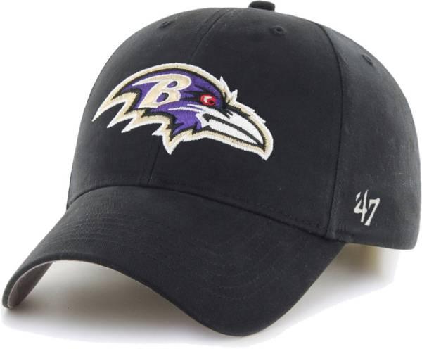 '47 Boys' Baltimore Ravens Basic MVP Kid Black Hat product image