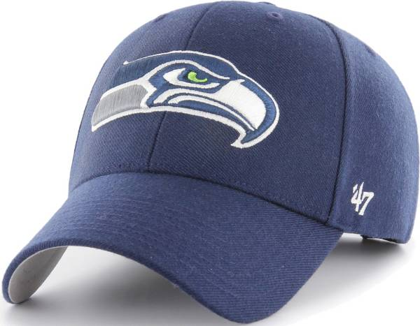 '47 Men's Seattle Seahawks MVP Navy Adjustable Hat product image