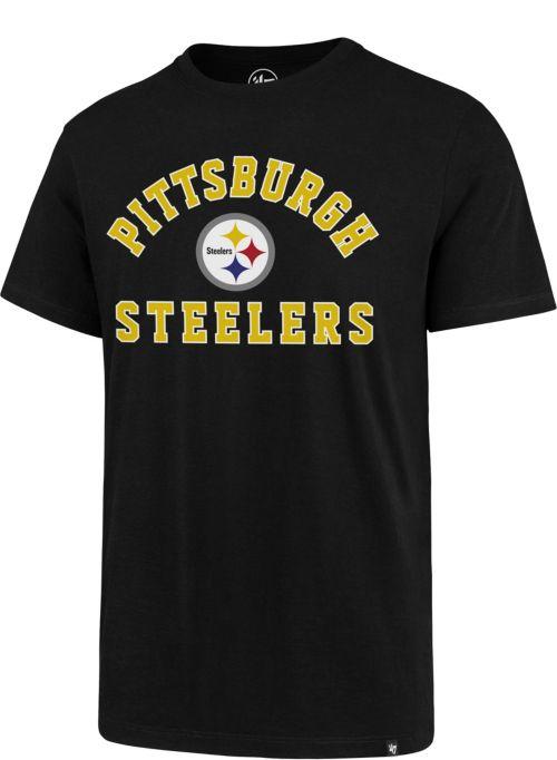 f432c3e36 47 Men s Pittsburgh Steelers Rival Black T-Shirt