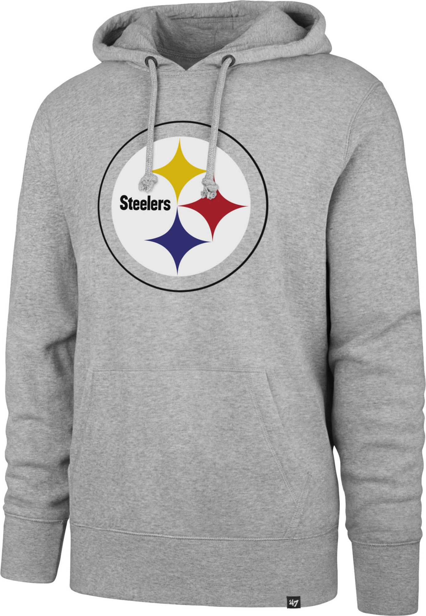 online retailer edb91 66cb2 pittsburgh steelers nike team issue classic grey hoodie