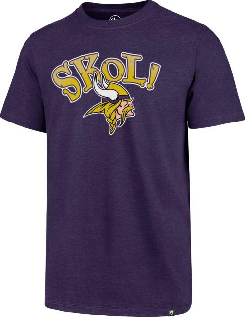 47 Men s Minnesota Vikings SKOL! Purple T-Shirt. noImageFound. Previous 7570e25fc