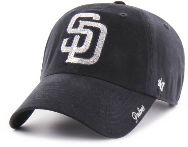 '47 Women's San Diego Padres Sparkle Clean Up Adjustable Hat product image