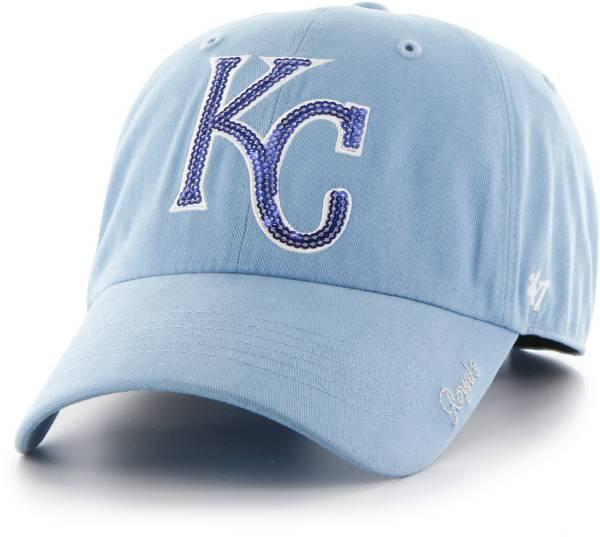 '47 Women's Kansas City Royals Sparkle Clean Up Adjustable Hat product image