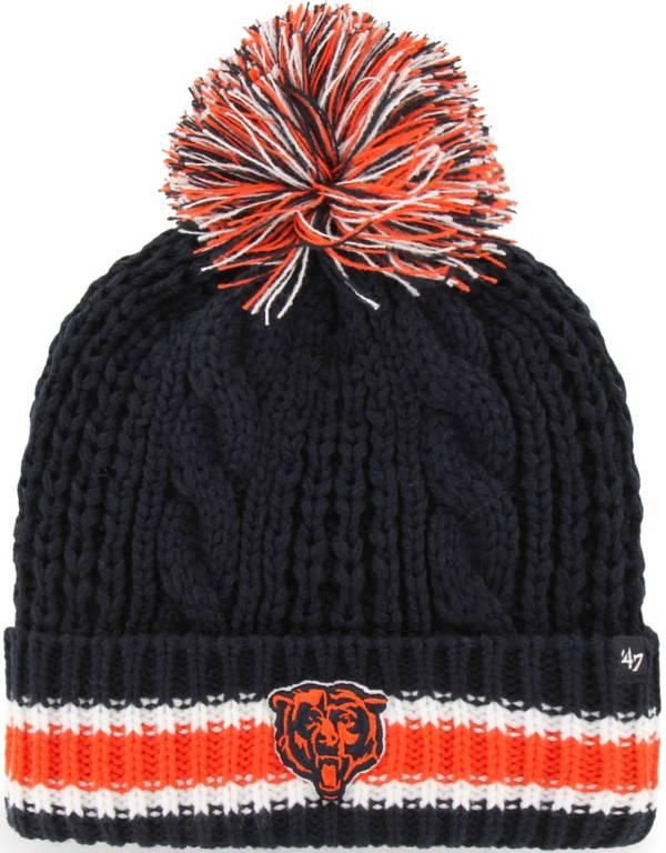 '47 Women's Chicago Bears Sorority Navy Cuffed Pom Knit product image