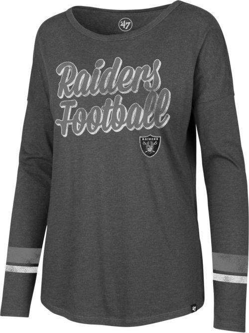 ... Oakland Raiders Courtside Grey Long Sleeve Shirt. noImageFound. Previous 26ea7a73c