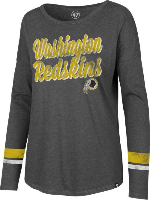 47 Women s Washington Redskins Courtside Grey Long Sleeve Shirt.  noImageFound. Previous 6e565b73a