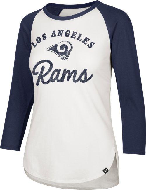 47 Women s Los Angeles Rams Splitter White Raglan Shirt. noImageFound.  Previous e7e37c54d7