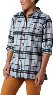 Columbia Women's Silver Ridge 2.0 Flannel Tunic Button Down Shirt product image