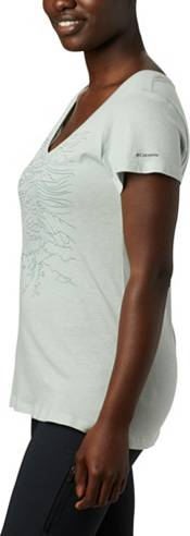 Columbia Women's Hidden Lake Graphic V-Neck T-Shirt product image